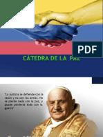 CATEDRA DE PAZ