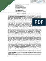 Exp. 06892-2019-0-3207-JP-FC-02 - Resolución - 05951-2020