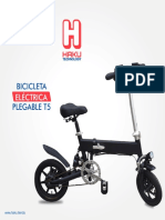Catálogo - Bicicleta eléctrica T5 - Haku Technology