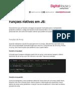 Funções Nativas em JS
