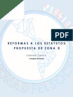 Propuesta ZONA D - Reformas a los estatutos