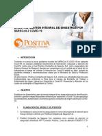 DIRECTRIZ DE MANEJO  INTEGRAL DE SINIESTROS COVID-19 V1