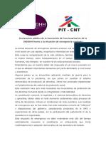 DeclaracionPublica_Afinddhh25marzo2020