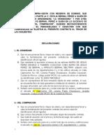 Contrato de compra-venta BORRADOR 1.