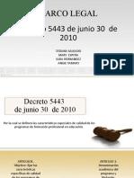 Marco legal diapositivas