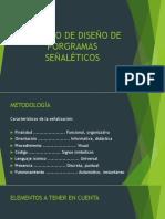 SESIÓN 18, PROCESO DE DISEÑO DE PROGRAMAS SEÑALÉTICOS