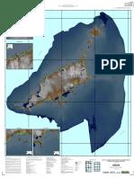 Mapa de Flutuação do Nivel do Mar