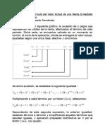 MATEMATI CA III Valor actual, saldo de deuda y formula de BAILY