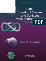 Von Seggern, David Henry - CRC Standard Curves and Surfaces With Mathematica- (2016)