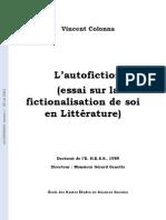 l-autofiction-essai-sur-la-fictionalisation-de-soi-en-litterature