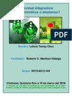 TamayChuc_Leticia_M17 S1 AI1Determinísticos o aleatorios