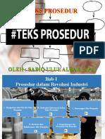 PPT TEKS PROSEDUR BAB 1