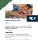 Cómo configurar GRBL & Máquina CNC de control con Arduino