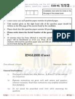 ENGLISHQuestionPaper2015