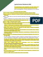 Bibliografia residencia psicología 2020 ITALIANO