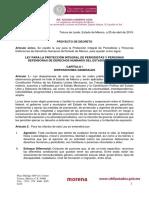 1. Ley Para la Protección Integral de los Periodistas del Estado de México 30072020
