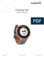 Forerunner 620 Owners Manual
