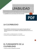 LA CULPABILIDADd