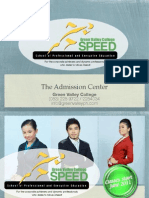 Green Valley College SPEED