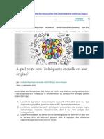 Les neuromythes chez les enseignants québécois (J. Blanchette Sarrasin et al.)