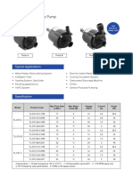 C01 Micro Brushless DC Centrifugal Pump