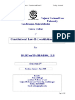 Course Outline- Constitutional Law-II  - Copy.doc