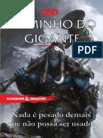 D&D 5E - Homebrew - Bárbaro Gigante - Biblioteca do Duque
