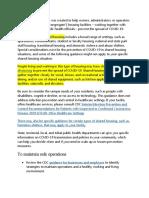 DOH -pwede protocols