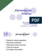 elementos de antenas