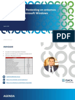 ISACA SD - Ataques sobre entornos Windows v1.0