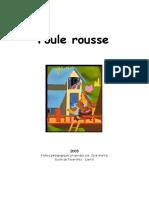 POULE ROUSSE - Fiches activités GS