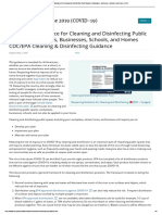 Reopening Guidance for Cleaning and Disinfecting Public Spaces, Workplaces, Businesses, Schools, and Homes _ CDC