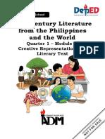 EDITED_21st-Century-Lit11_Q1_Module-4_Creative-Representation-08082020.pdf