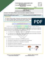 GUIAS DIDACTICA 4 MATEMATICAS sexto  2020