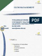 4curriculum management