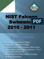 Parent Swimming Information
