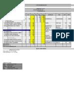 Costos Espaldera 1ra. metodologa grupo A 2010