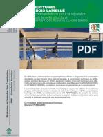 Bois - Note n°1 de la FIBC - Recommandations pour la réparaton du bois l...