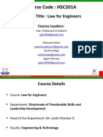 Law for Engineers