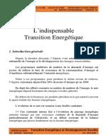 cours 2   Transition Energetique  et DD   M1 GPetro S2.