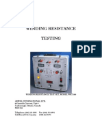 WRT-100_winding resistance test