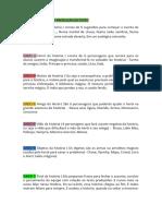 LINGUA PORTUGUESA PRODUÇÃO DE TEXTO 4 ANO