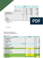 BOQ koreksi TERBARU Wisma Shallom dan analisa