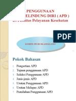 PENGGUNAAN ALAT PELINDUNG DIRI (APD).pptx