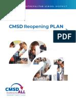 CMSD Reopening Plan