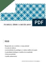 Psicanálise, gênero e a questão queer - aula 2.pdf