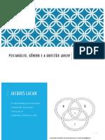 Psicanálise, gênero e a questão queer - aula 3.pdf