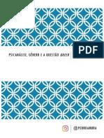 Psicanálise, gênero e a questão queer - aula 4.pdf