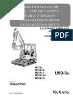Parts list catalog Kubota RH828-8139-0_U50-3a.pdf.pdf