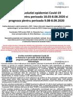 Analiza Epidemiei COVID-19 Proiect IASO